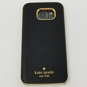 Kate Spade Wrap Saffiano Black Case for Galaxy S7